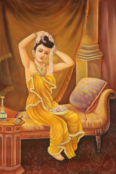 biography of indian classical artist a nair woman adorns herself