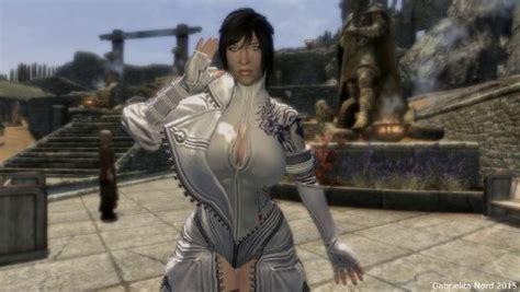skyrim hot armor for female mod skyrim hot sexy blade soul heihu dragon iii armor for