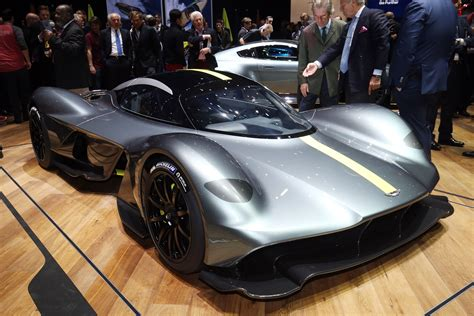 Aston Martin Valkyrie Hypercar Official Pictures Auto