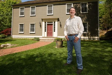 Colonial House Pbs by Norm Abram On His Newish Old House Wsj