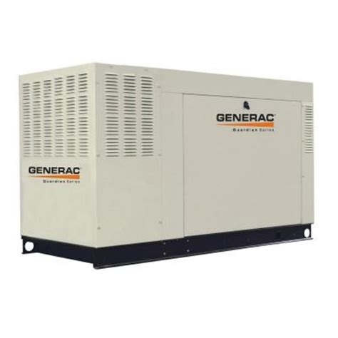 generac whole house generator generac 60 000 watt liquid cooled standby generator aluminum natural gas qt06024anax
