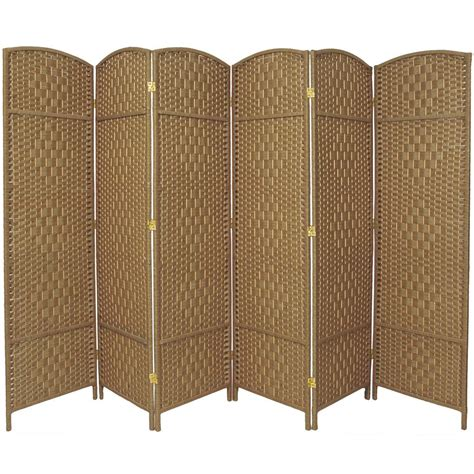 6 panel room divider 6 ft 6 panel room divider fbopdmnd6pnat the