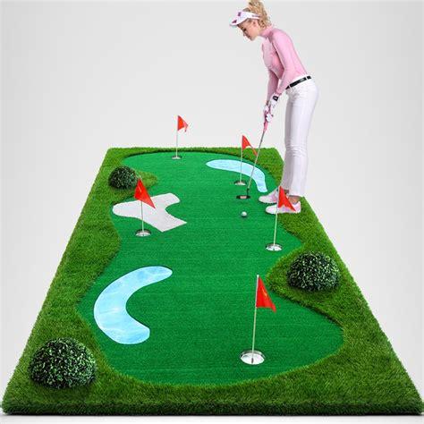 putting matte protable mini co de golfe putting mat para escrit 243