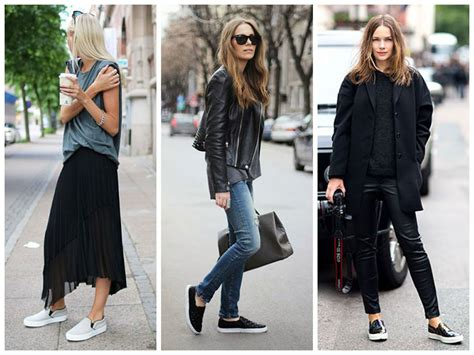 slip on sneakers trend how to pull the slip on sneaker trend