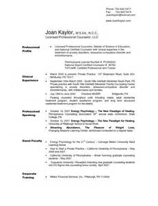 Sle Counseling Resume by Community College Counselor Resume Sales Counselor