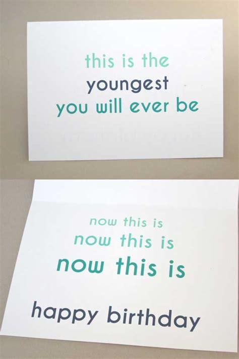 Birthday Gift Card Ideas - funny birthday card ideas gangcraft net