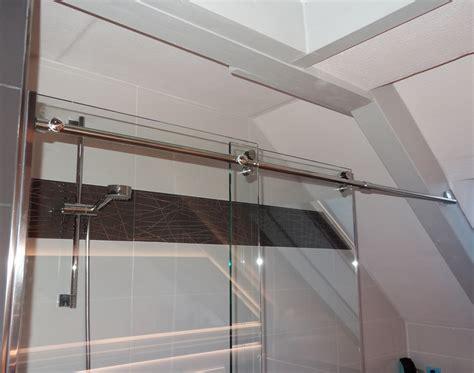 duschabtrennung auf badewanne duschabtrennung schiebet 252 r auf badewanne