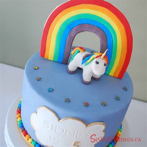 Sweet Home 3d by Sweetthings Rainbow Amp Unicorn Cake
