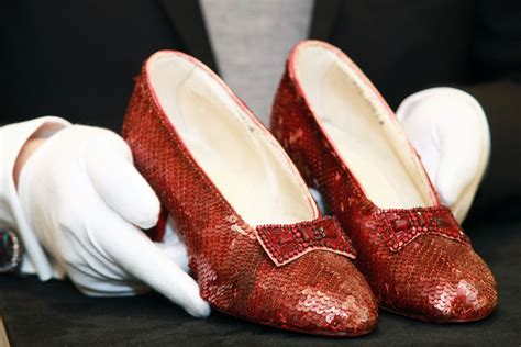 wizard of oz slippers 1 million reward offered for safe return of stolen wizard of oz ruby slippers closer weekly