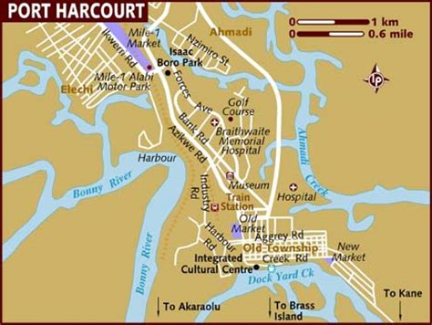 Car Rental In Port Harcourt Nigeria by Map Of Port Harcourt