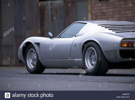 Lamborghini Models By Year Car Lamborghini Miura Sv Jota Model Year 1970s