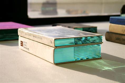 Novel Glass layers of glass on objects fubiz media