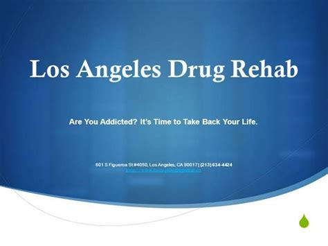 Detox Treatment Los Angeles by Los Angeles Rehab 601 S Figueroa St 4050 Los