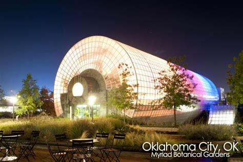 The Best Wedding Venues In Oklahoma City Oklahoma Okc Myriad Botanical Gardens Oklahoma City