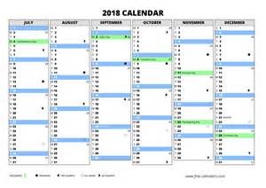 Calendar 2018 By Week Number 2018 Calendar Printable Templates Calendar Office