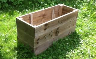 large wooden garden vegetable raised beds herb planter