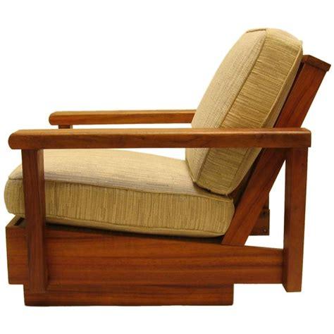 armchair hawaii hawaiian koa living room set at 1stdibs