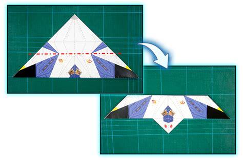 Origami Arwing - make an origami arwing nintendo club