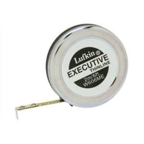 lufkin 6 ft executive thinline pocket measure w606me