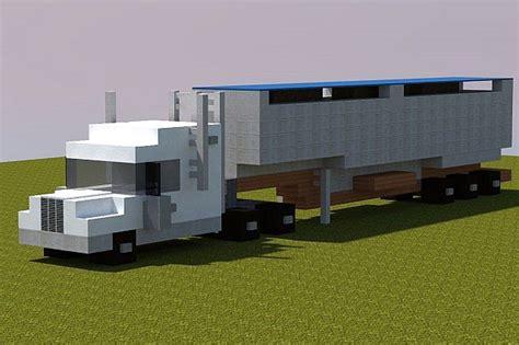 minecraft semi truck semi truck minecraft project