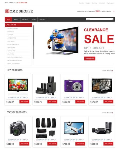 online shopping templates for asp net 50 best ecommerce website templates free premium