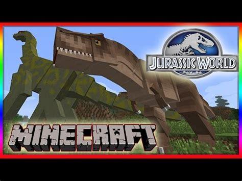 mod game jurassic world minecraft 1 8 jurassic world mod showcase dinosaurs
