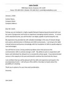 network engineer cover letter exle exle cover letter
