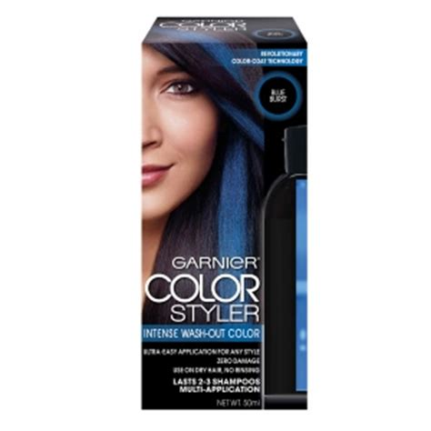 color wash out garnier color styler wash out blue burst