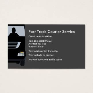Courier Business Cards Template by Courier Service Business Cards Templates Zazzle
