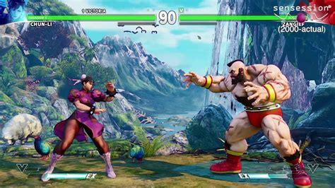fighter v gameplay ps4 sensession