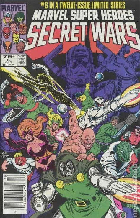libro marvel super heroes secret marvel super heroes secret wars 1984 comic books