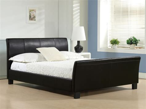 cheap leather bed frame bentley black faux leather bed frame cheap bed frames