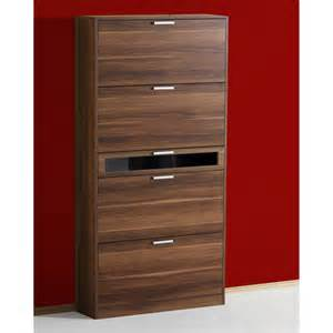 Shoe Storage Cabinet Bingo Walnut Shoe Storage Cabinet 8554 18 05 Ebay