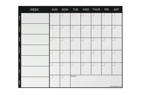 Fridge Calendar Weekly Magnetic Refrigerator Calendar