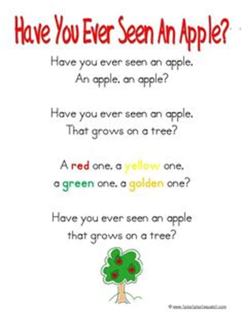 Nursery Rhymes With Food In Them by 1000 Images About Apple On Pinterest Apple Crafts