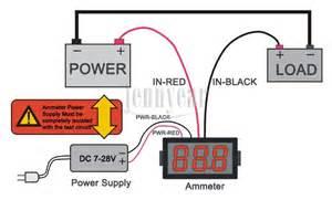 usefulldata ammeter schematic and diagram