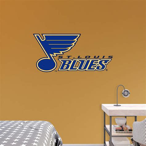 Home Decor Outlet St Louis by St Louis Blues Logo Transfer Decal Wall Decal Shop Fathead 174 For Wall Art D 233 Cor