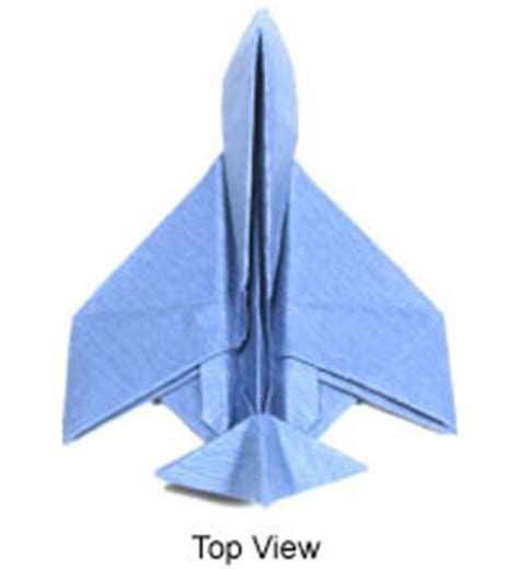 Jet Plane Origami - origami make to learn how to make origami models
