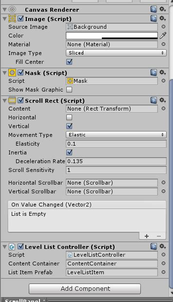 unity vertical layout group script scrolling dynamic items in scrollable vertical layout