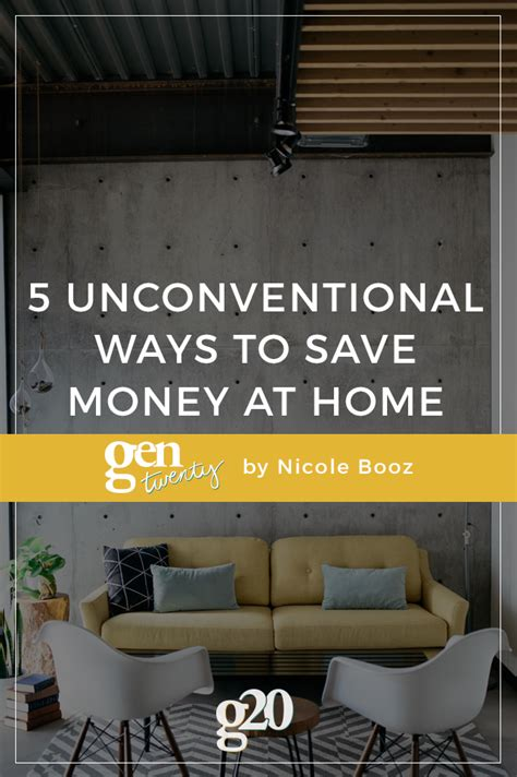 best 28 5 unconventional ways to save money in 2015