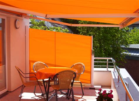 patio awnings with side screens simple house designs