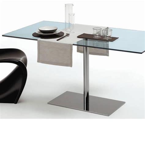 Tonelli Farniente Glass Rectangular Dining Table