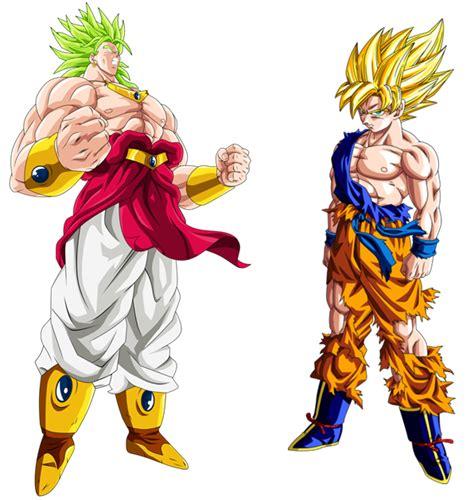 imagenes de goku legendario el super saiyajin legendario original taringa
