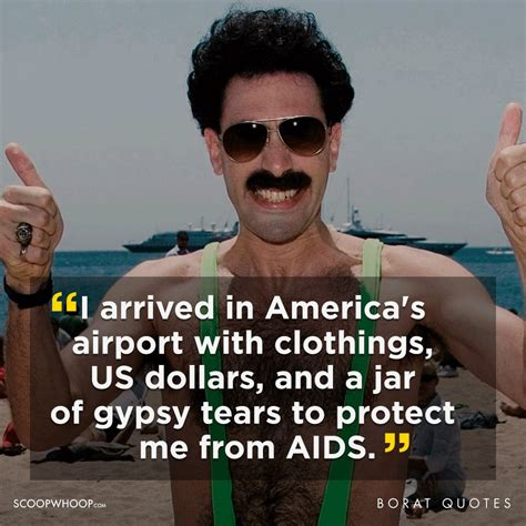 best borat quotes 21 outrageously offensive quotes by borat that we re all