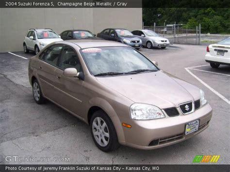 2004 Suzuki Forenza Chagne Beige Metallic 2004 Suzuki Forenza S Gray
