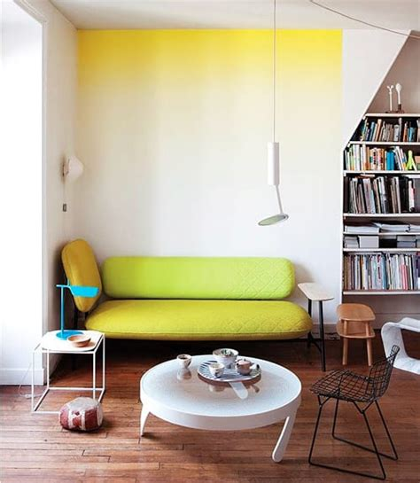 idee pareti casa trend casa idee per arredare con il colore giallo