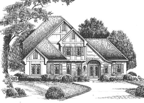 french tudor house plans tudor house plan with 2608 square feet and 3 bedrooms s