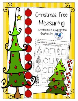 christmas tree stumper math 17 solution tree measuring with non standard units math center tpt