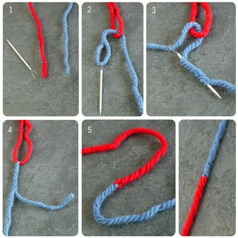joining knitting in the the russian join knitting create something