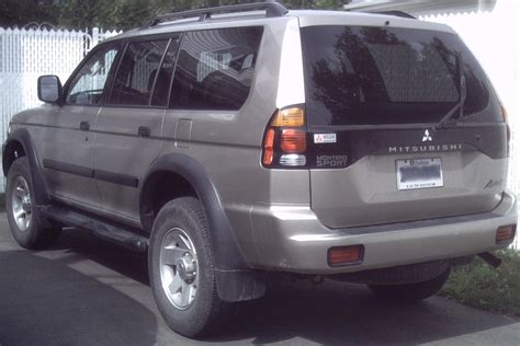 old car manuals online 2004 mitsubishi montero sport windshield wipe control service manual how to work on cars 2004 mitsubishi montero sport engine control 2004
